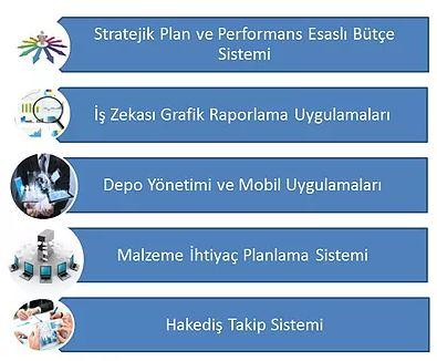 kapsam ve yardımcı modüllerimiz kurumsal yönetim bilgi sistemleri